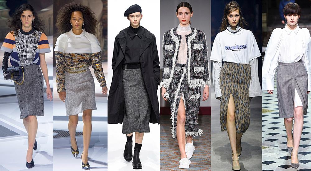 мода зима 2019 основные