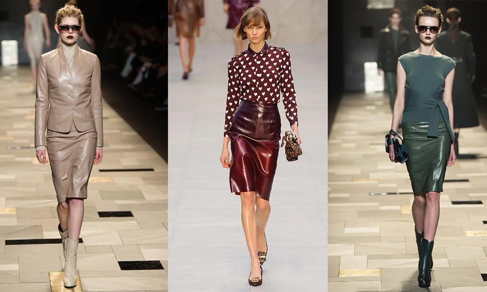 00921d4f8e5f Кожаная юбка-карандаш — как выбрать и с чем носить