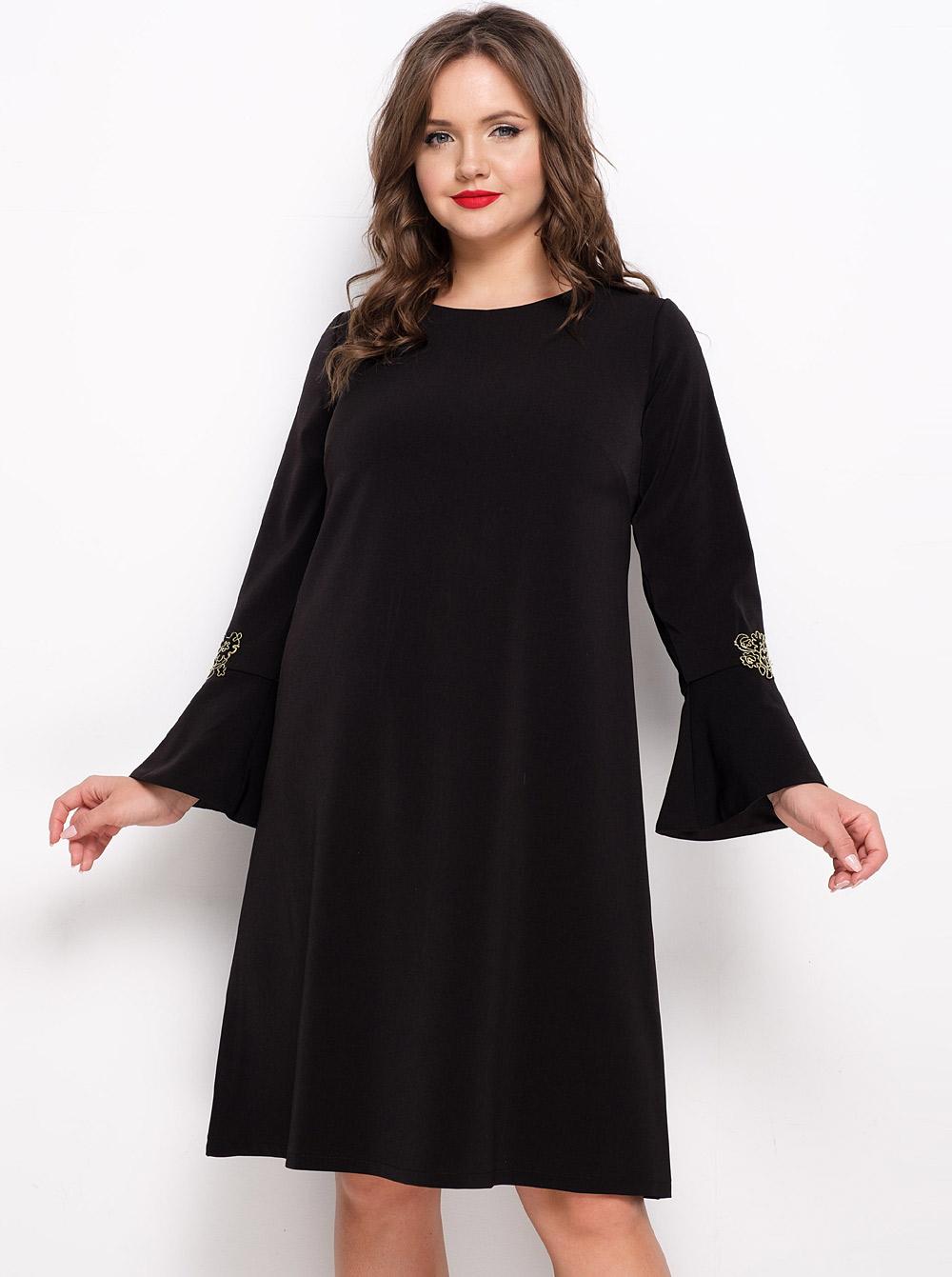 платье с длинным рукавом фото классика зверевой