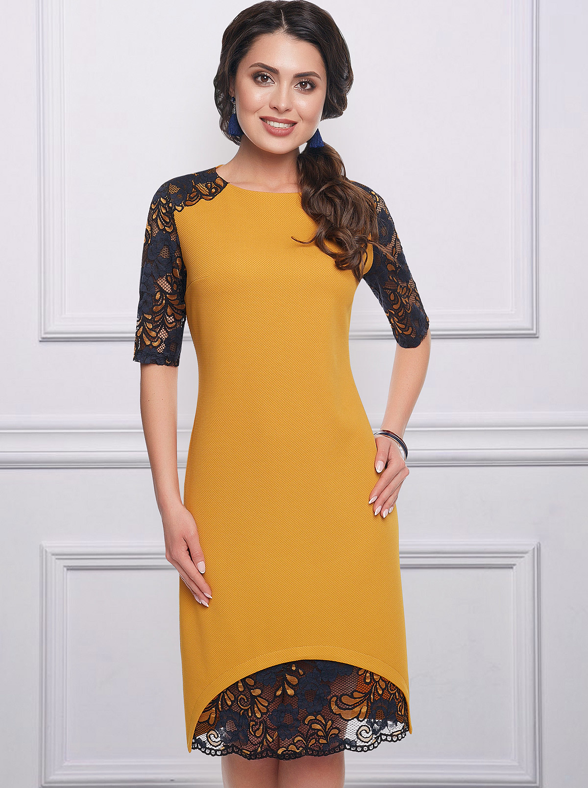 f896810ca7f Купить Платье Шикарная женщина янтарь Charutti