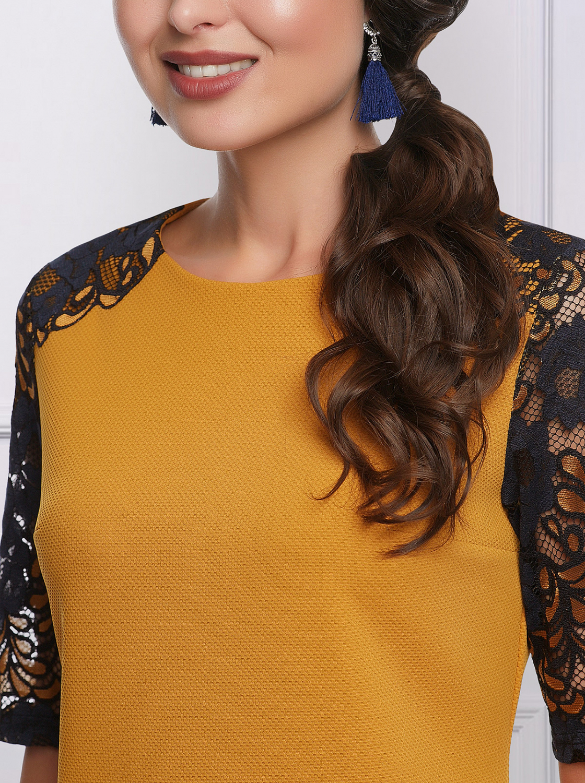 78e2ed3f02b Интернет-магазин Эгерия → Женская одежда → Платья → Праздничные платья → Платье  Шикарная женщина янтарь Charutti