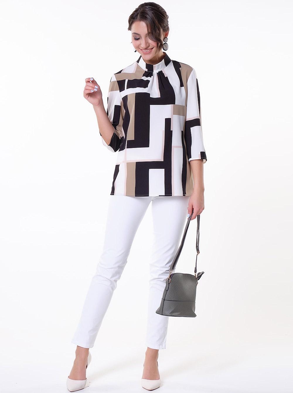 a1124ac881f Интернет-магазин Эгерия → Женская одежда → Блузы → Повседневные блузки →  Блуза 10977-1 Санса-1 Valentina