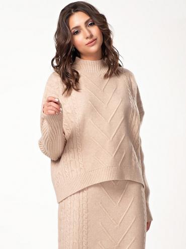 женские вязаные туники джемперы свитера кардиганы платья