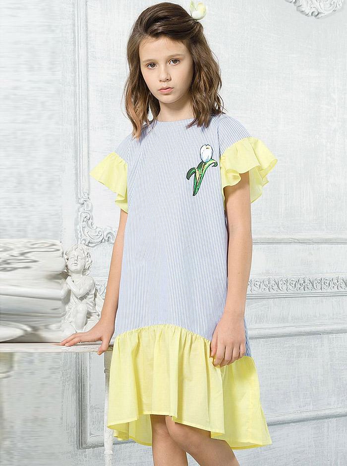 ac7e56928b24b67 Купить Платье GWDT4111/1 Голубой Pelican