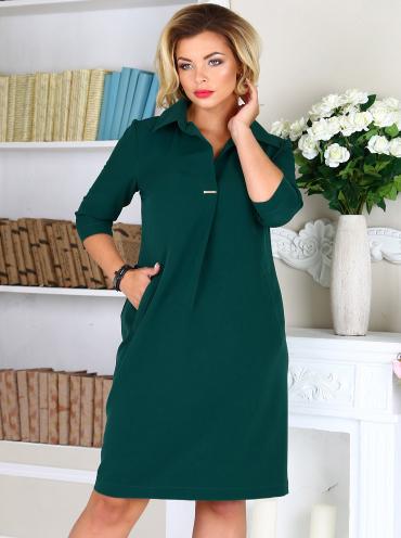 b7786de91042355 Офисное платье большого размера купить с доставкой - цены от 1 196 ...