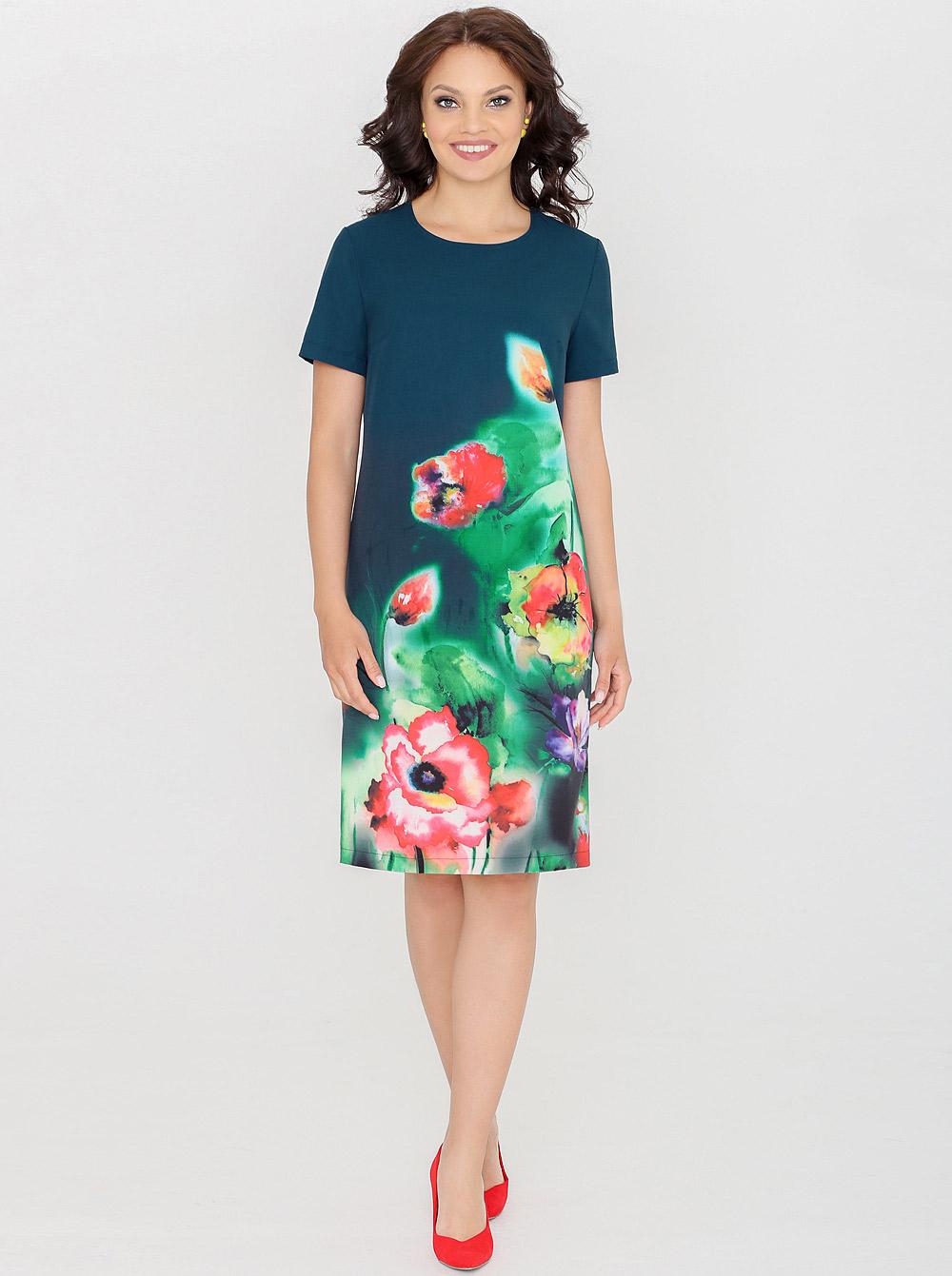 7a6861b4b1e76e1 Купить Платье П-0204 Летний виш-лист модная Dstrend