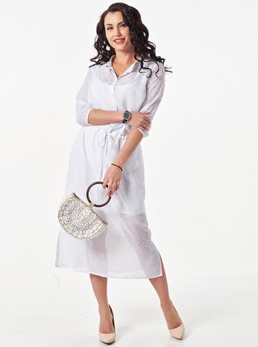 4b578479f28963a Белое платье большого размера купить недорого - цены от 1 600 руб ...