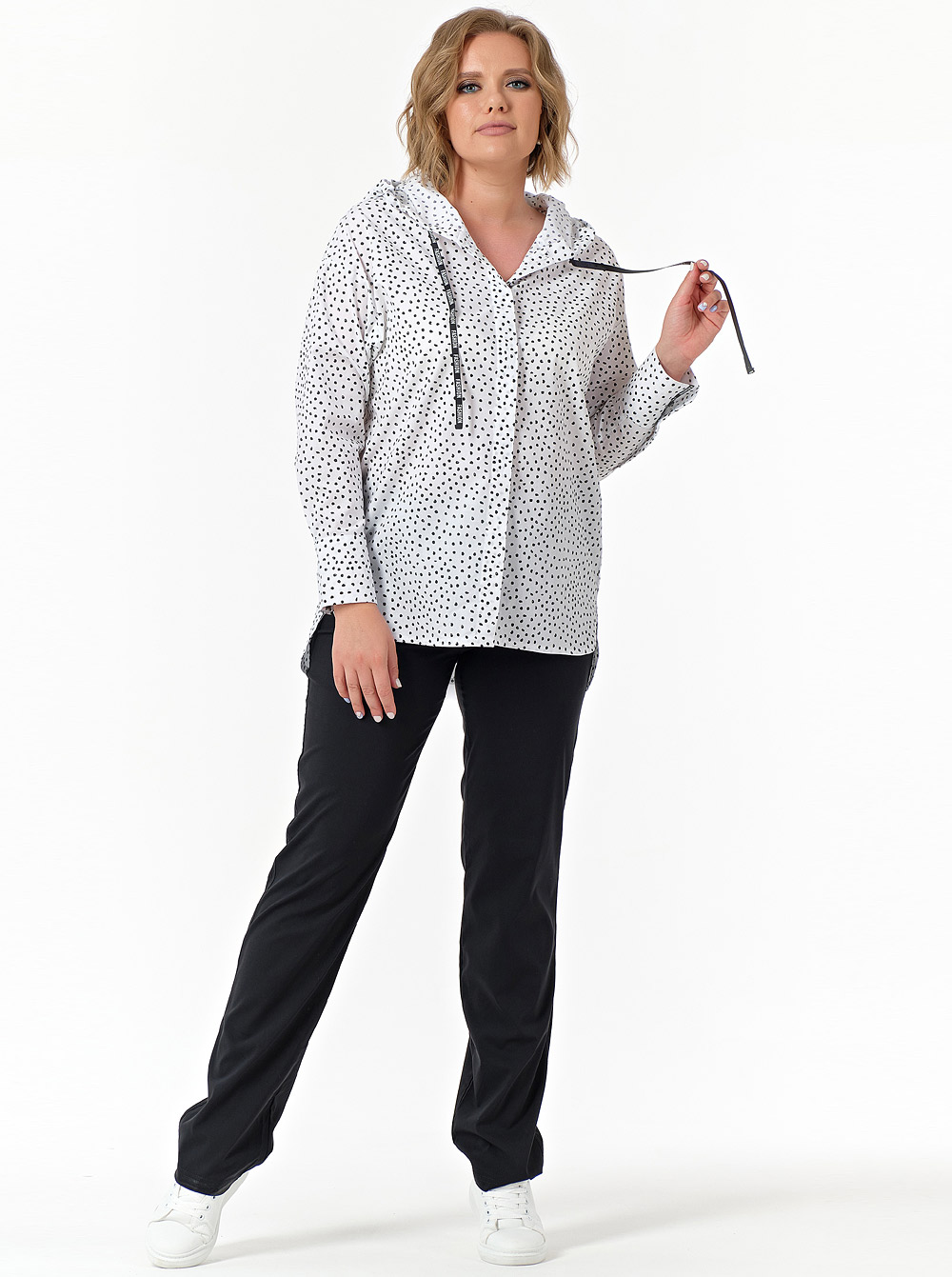 Купить Рубашка 799-915 Diana , цвет: Белый  с доставкой в интернет-магазине Эгерия