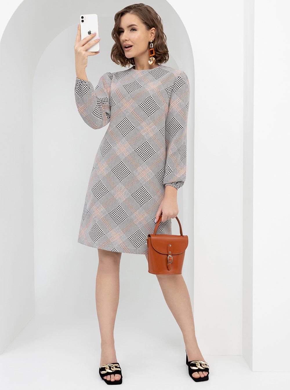 Купить Платье Софи CHARUTTI , цвет: Серый с доставкой в интернет-магазине Эгерия